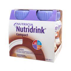 NUTRIDRINK COMPACT KAAKAO 4X125 ML