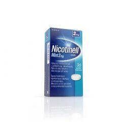 NICOTINELL MINT 2 mg imeskelytabl 36 fol